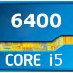 I5 6400 сколько ядер