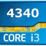 Intel core i3 4340 характеристики