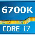 Intel core i7 6700k 4 ghz