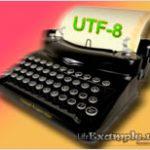 Php задать кодировку utf 8