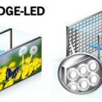 Direct led edge led oled qled