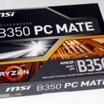Msi b350 pc mate обзор