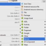 Android studio работа в фоновом режиме