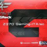 Asrock fatal1ty z370 gaming itx ac