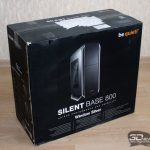 Be quiet silent base 800 black