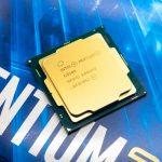 Intel core pentium gold