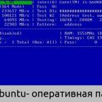 Linux свободная оперативная память